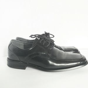 STACY ADAMS Leather Black Dress Shoe Oxford Loafer